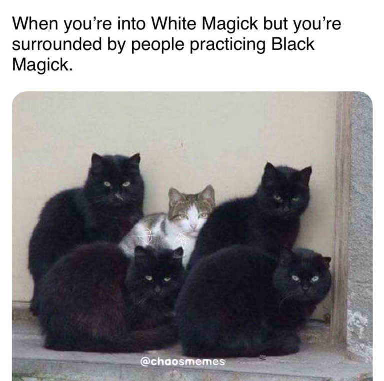 When You're Surrounded by People Practicing Black Magick