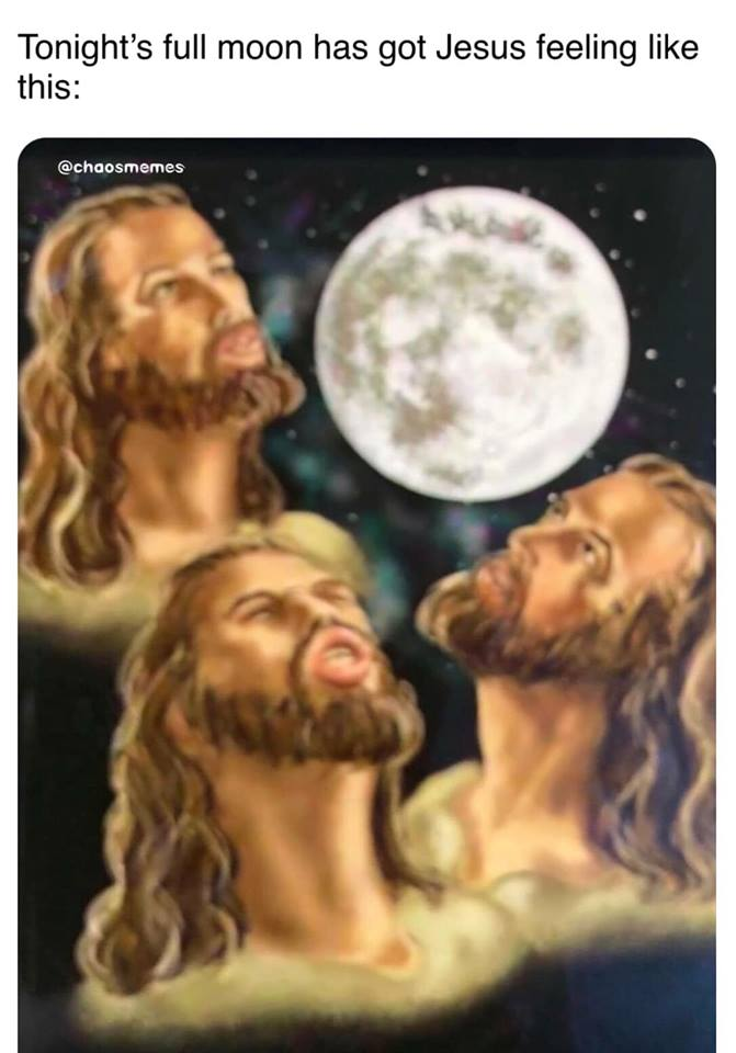 Jesus & Full Moon