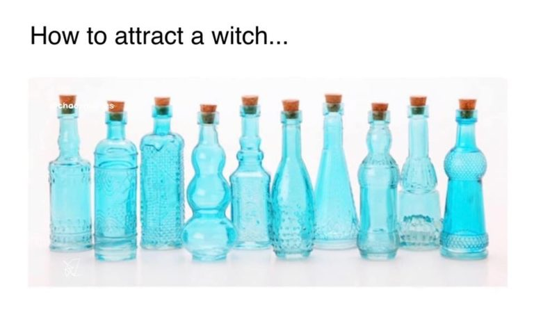 How to Attract a Witch