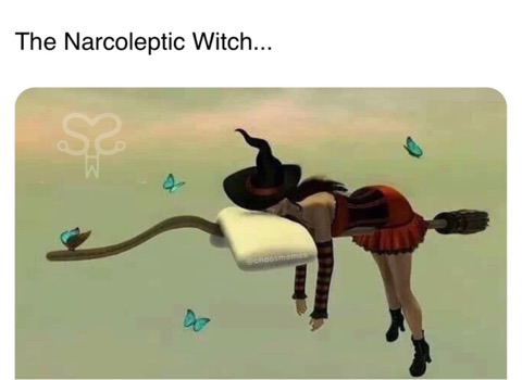 Narcoleptic Witch