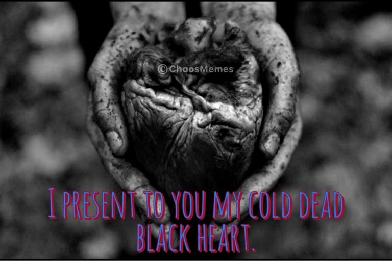 Cold Dead Black Heart